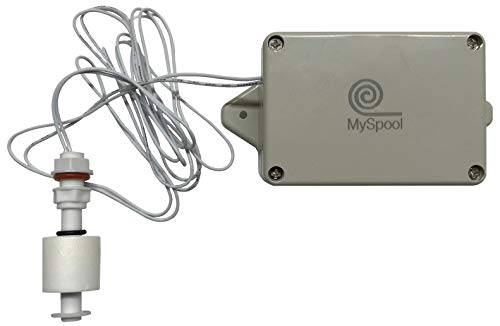 MySpool Water Level Alert with Text Message and Email Notifications, Battery Powered with a Float Sensor