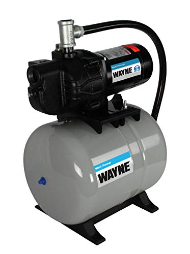 Wayne SWS50-8.5FX, 59501-WYN2, 1/2 HP Pre-Charged Well Air Tank System, Black