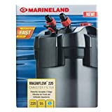 Marineland Magniflow Canister Filter 220 GPH For aquariums, Easy Maintenance