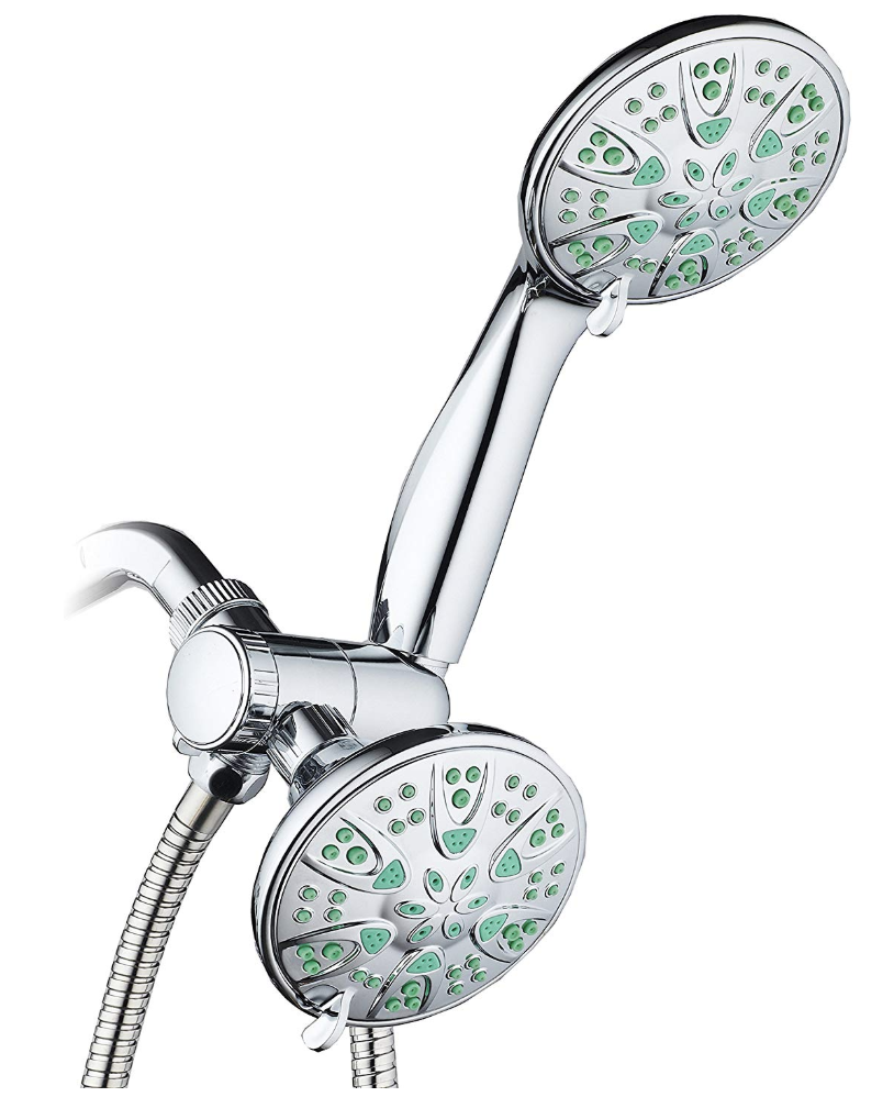 Antimicrobial/Anti-Clog High-Pressure shower head