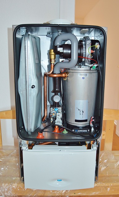 open gas water heater